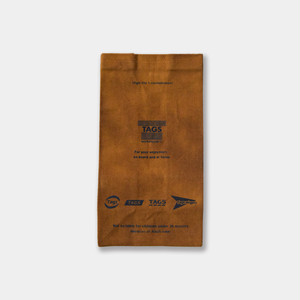 Waxed Canvas Lunch Bag Brown