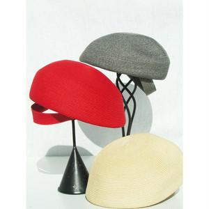 Pole Pole 18115 Paper-braid Beret ペーパーブレード ベレー帽