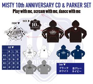 10周年記念パーカー