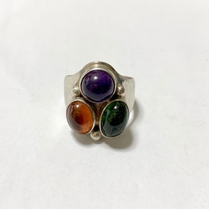 Vintage ALXN Designers Silver Ring