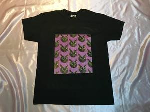 ♥黒猫エル♥Tシャツ〈ブラック〉