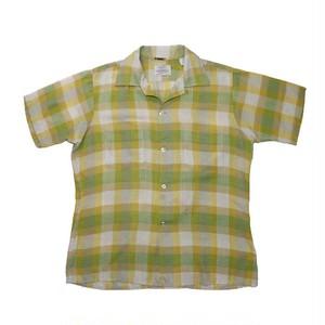 """ARROW"" Dacron Plaid S/S Shirts (Made in USA)"