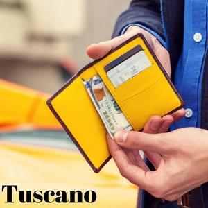 本革 名刺入れ カードケース クロコダイル STORY LEATHER ストーリーレザー Tuscano 国内正規品