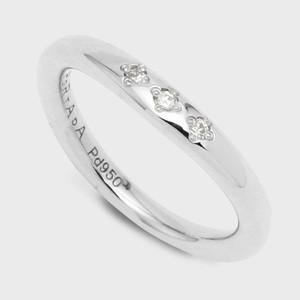 PORTADA BABY RING ESQUINA(LADY'S MODEL)Pd950(ポルターダ ベビーリング エスキーナ レディースモデル パラジウム950 ダイヤモンド)