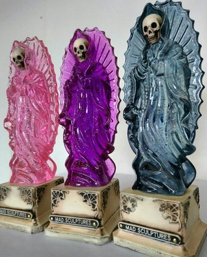 Skull virgin mary