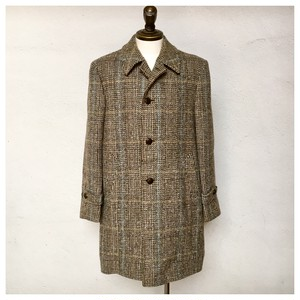 1970s Vintage ATS Wool Chesterfield Coat