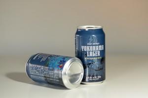 【缶ビール】 横浜ラガー 350ml  6本セット/YOKOHAMA LAGER