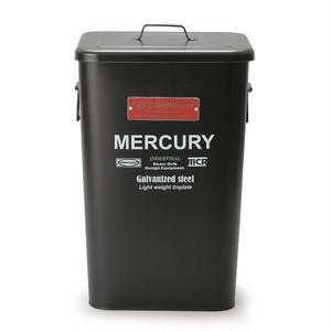 MERCURY マーキュリー スクエアドダストビン マットブラック
