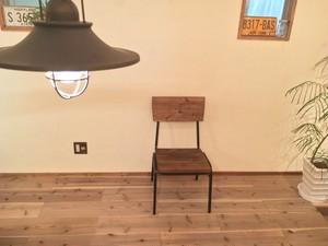 送料無料 ダイニングチェア 椅子 アイアン 在庫限りアウトレット品 [Iron chair]