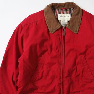 【Mサイズ】 EDDIE BAUER エディバウアー HUNTING JKT ハンティングジャケット RED M 400610190972