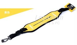 CADEN カメラ用ネオプレン製クイックストラップ 黄