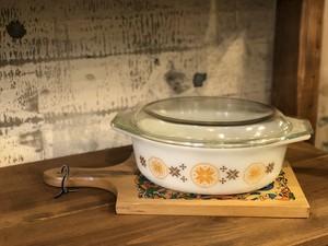 オールドパイレックス  USA キッチン雑貨 pyrex  キャセロール グラタン ベイク皿