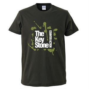 COUNTER ACTION Tシャツ / ヴィンテージブラック