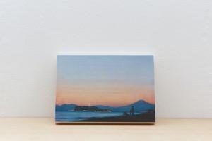Wood Panel 湘南 #1 _ A5