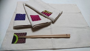 African batik ランチョマット