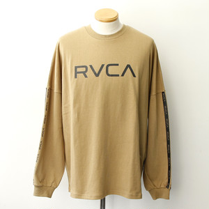 【RVCA】 BIG RVCA LS (Dark Sand)