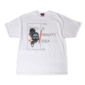 LESS IS MORE Tee -White-