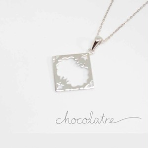 chocolatre「オペラ(大)」シルバーペンダント