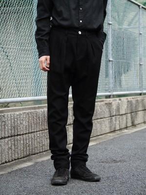 【SALE】kujaku 19A/W 柊(hiragi)pants black