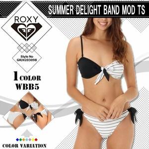 GRJX203098 WBB5 ロキシー 水着 ビキニ 通販 人気 ブランド 可愛い かわいい 黒 白 ボーダー ブラック ホワイト M ビーチ リゾート ナイトプール 旅行 SUMMER DELIGHT BAND MOD TS ROXY