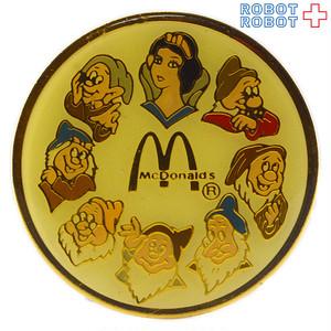マクドナルド ディズニー 白雪姫 ピンズ