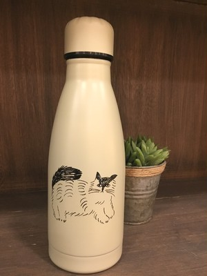 松尾ミユキ Cat Water Bottle Fluffy 380ml