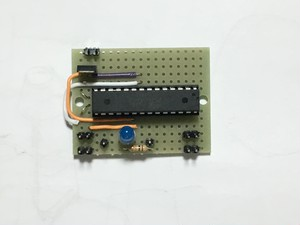 ATMEGA328P(クリスタルなし、3.3Vで動作)
