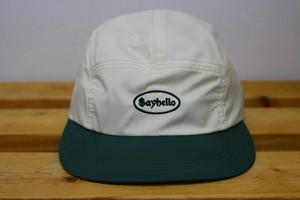 SAYHELLO Cash Logo Jet Cap [NATURAL / GREEN]