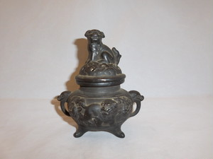 陶器香炉 pottery incense burner(No15)