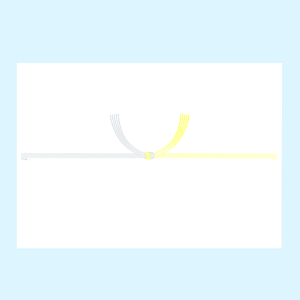 【黄白結び切り】仏熨斗・包装・紙袋 贈答セット