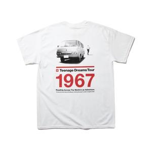 """TOYOTA """"HIACE 1967"""" Tee - White"""