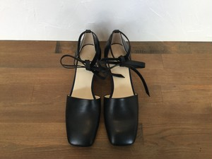 "_Fot "" square toe heel "" Black"
