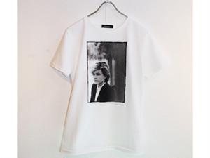 デヴィッド・シルヴィアンTシャツ〈FUNDOM×HERBIE YAMAGUCHI〉(白)