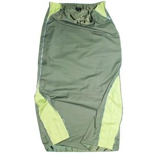 90-00s vintage W-zipped skirt