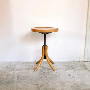 Dutch Vintage Wood × Iron Up-Down Stool オランダ