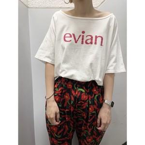 """90's """"Evian"""" Tシャツ"""
