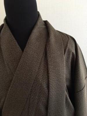 男性用着物 42722033 ウール(茶色)4800円