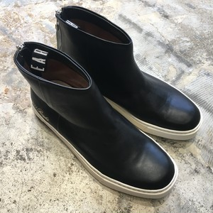 【EARLE】 Backzip sneaker boots