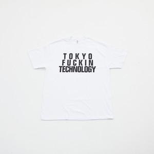 Anoraks | TOKYO FUCKIN TECHNOLOGY TEE [White]