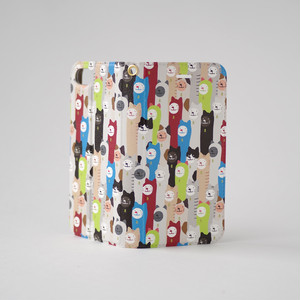 ルルさんのねこがいっぱい 手帳型スマホケース