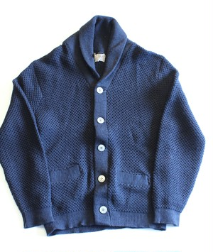 "1950's〜1960's Vintage ""Silver Wood"" Shawl collar cardigan"
