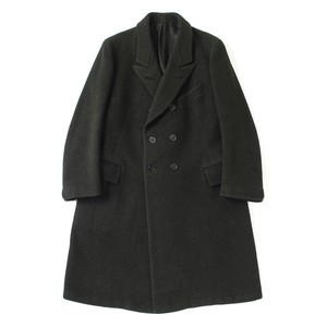 French vintage double breasted coat