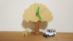 木の置き時計 大樹