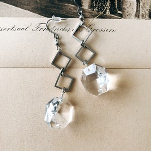 Chandelier earrings [silver]