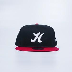 H Logo Baseball Cap ( BLACK × RED )