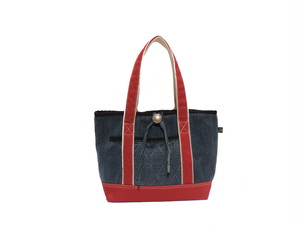 KENDO-CLOTH×TWILL TOTE  RED  SIZE:S