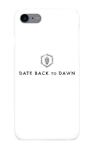 DATEBACKTODAWN iPhone7ケース White