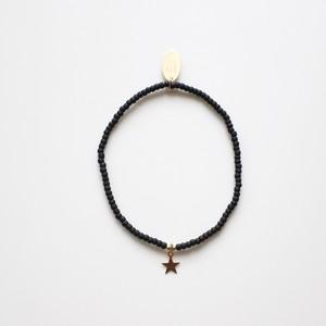 Noir étoile bracelet