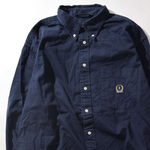 【XLサイズ】NAUTICA ノーチカ BD SHIRTS シャツ NAVY ネイビー XL 400602191008