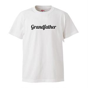 ★敬老の日に★Grandfather おじいちゃん Tシャツ-white-